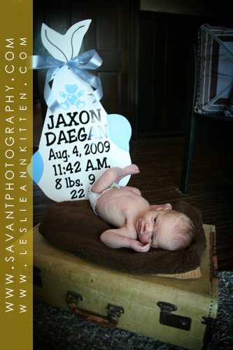 Jaxon Cooley Newborn