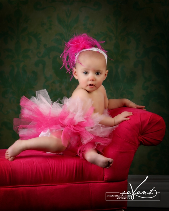 Addison's 8 month Portraits